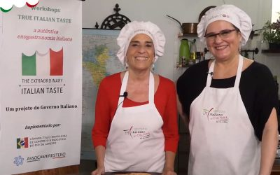VÍDEO-AULAS TRUE ITALIAN TASTE: VEM MUITA COISA BOA POR AÍ!
