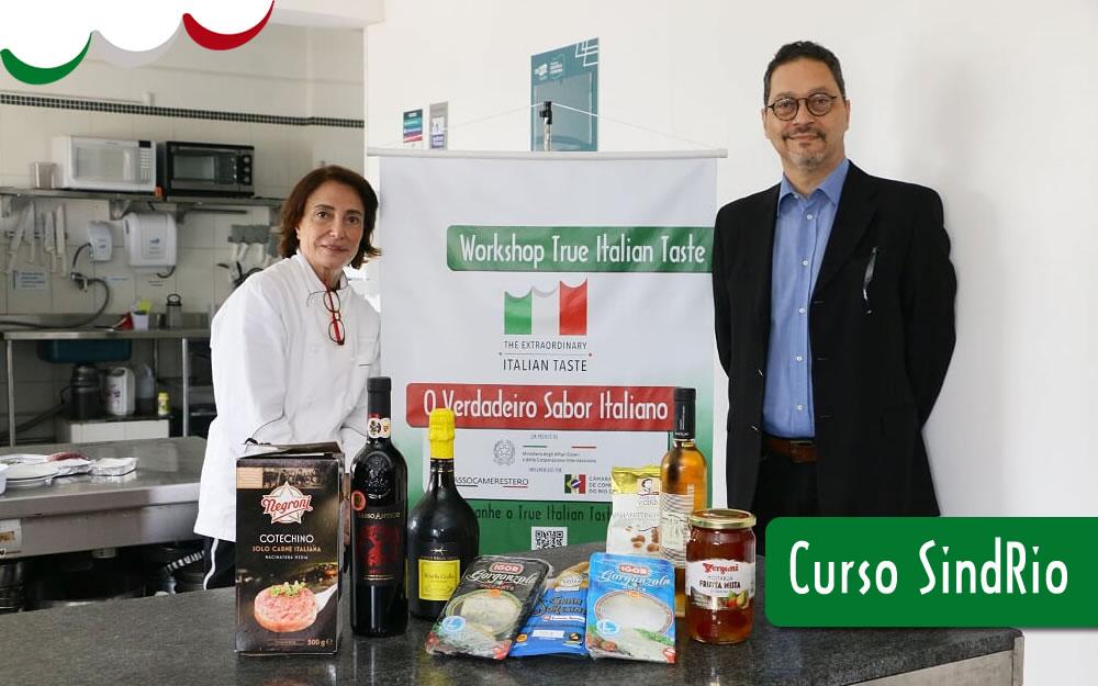 26/AGO – CURSO DE GASTRONOMIA E VINHOS ITALIANOS – SINDRIO