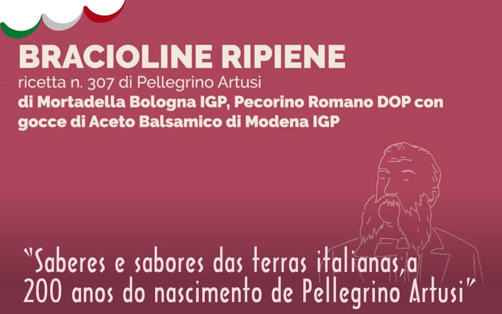 V Semana da Cozinha Italiana – Artusi – Bracioline Ripiene