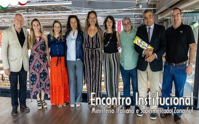 ENCONTRO DO MINISTÉRIO DO DESENVOLVIMENTO ECONÔMICO ITALIANO COM O ZONA SUL