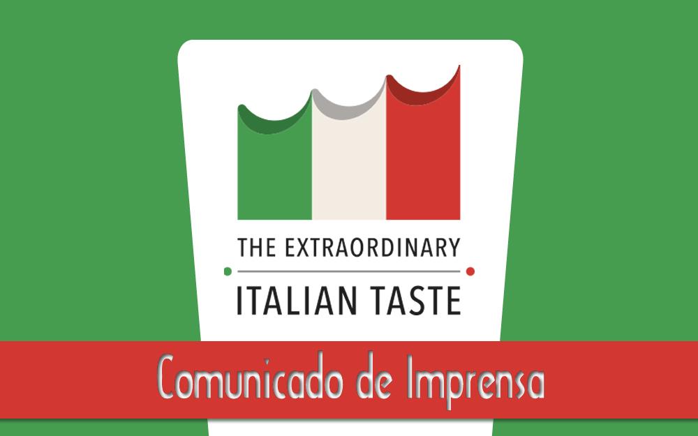 2/jun – Câmara Italiana dá a largada aos eventos True Italian Taste em plataforma digital