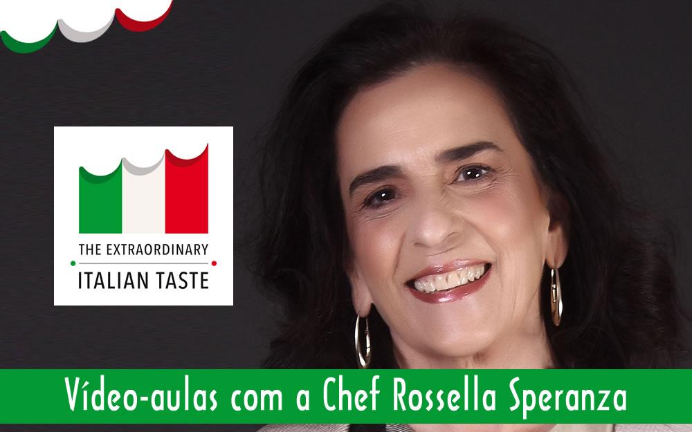 CALENDÁRIO DAS VÍDEO-AULAS DA CHEF ROSSELLA SPERANZA