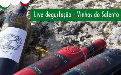 30/JUL – LIVE DEGUSTAÇÃO – VINHOS DA SALENTO