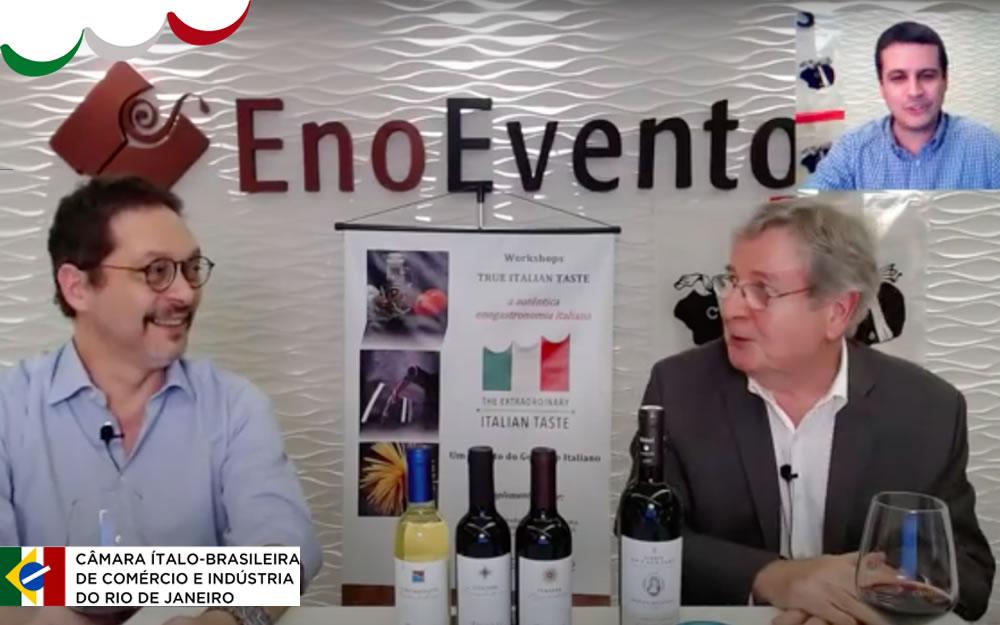Un altro delizioso capitolo True Italian Taste in Brasile: La nostra degustazione di vini sardi in Diretta è stata un successo!