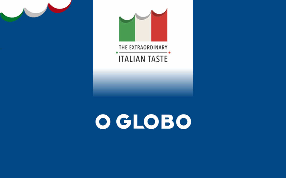 O Globo – Gastronomia italiana vai conquistar as redes a partir desta sexta-feira