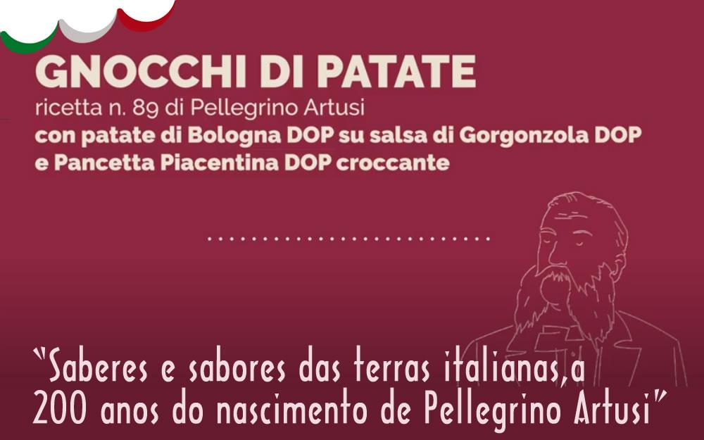 V Semana da Cozinha Italiana – Artusi – Gnocchi con Gorgonzola e Pancetta
