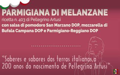 V Semana da Cozinha Italiana – Artusi – Parmigiana di Melanzane