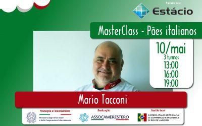 10/MAI – MASTERCLASS – PÃES ITALIANOS