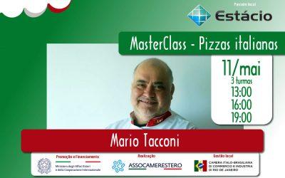 11/MAI – MASTERCLASS – PIZZAS ITALIANAS