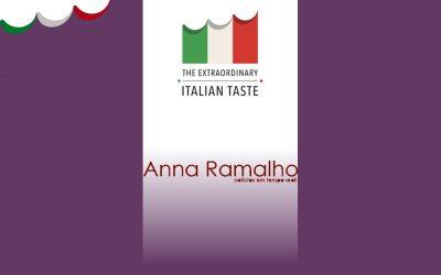 Blog Anna Ramalho – Um jantar italiano on line com o chef Rudy Bovo